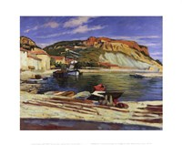 Cassis Pier Fine Art Print