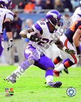 Adrian Peterson 2010 Action Fine Art Print
