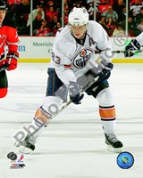 Ales Hemsky 2010-11 Action Fine Art Print