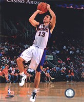 Steve Nash 2010-11 Action Framed Print