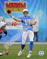 Philip Rivers 2010 Action Fine Art Print