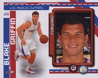 Blake Griffin 2010-11 Studio Plus Fine Art Print