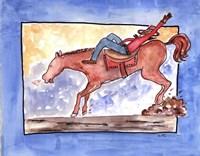 Ride em Cowboy Fine Art Print