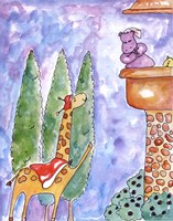 Romeo and Hippoet Fine Art Print