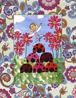 Ladybug Pyramid Fine Art Print