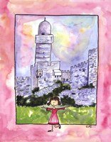 Girl in Israel Fine Art Print