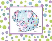 Groovy Elephant Fine Art Print