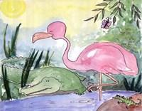 Swamp Livin Framed Print