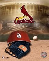 Cardinals -  Logo / Cap Fine Art Print
