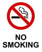 No Smoking - Small Fine Art Print