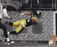 Troy Polamalu 2010 Spotlight Action Fine Art Print