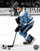 Sidney Crosby 2010-011 Spotlight Action Fine Art Print