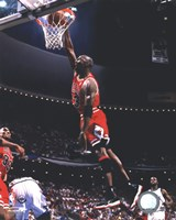 Michael Jordan 1995-96 Action Fine Art Print