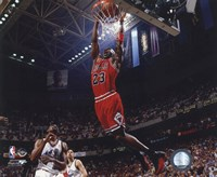 Michael Jordan 1996-97 Action Fine Art Print