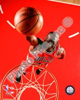 Michael Jordan 1995 Action Fine Art Print
