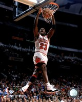 Michael Jordan 1996 Action Fine Art Print