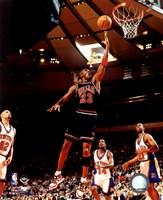 Michael Jordan 1998 Action Fine Art Print
