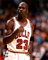 Michael Jordan 1994-95 basketball Action Fine Art Print