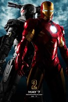 Iron Man 2 Gray Armor Wall Poster