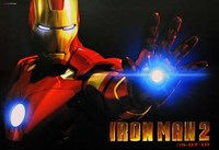 Iron Man 2 Close Up Framed Print