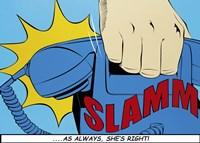 Slamm! Fine Art Print
