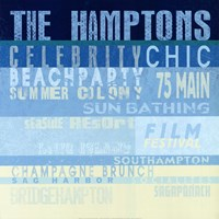 The Hamptons Framed Print