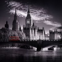 London Bus IV Fine Art Print