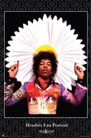 Jimi Hendrix Fan Portrait Wall Poster