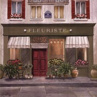 French Store II Framed Print