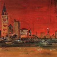 Crazy City II Fine Art Print