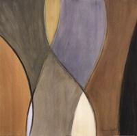 Coalescence, Earthtones II - detail Framed Print