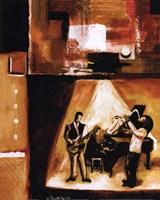 Musical Trio II Framed Print