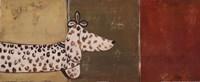 Fashion Puppy II Framed Print