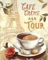 Cafe in Europe II Fine Art Print