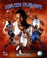 Kevin Durant 2011 Portrait Plus Framed Print