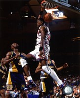 Patrick Ewing 1994-95 Action Framed Print
