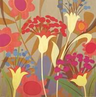 Floral Folio I Fine Art Print