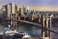Into Manhattan Fine Art Print