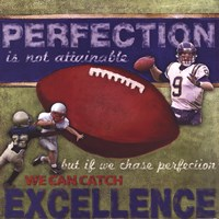 Perfection- Football Fine Art Print