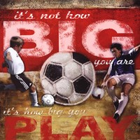 Big Play Fine Art Print