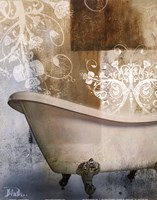 Bath Room & Ornaments I Fine Art Print