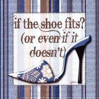 Girly Shoe II - petite Fine Art Print
