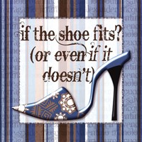 Girly Shoe II Fine Art Print