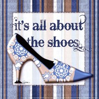 Girly Shoe I - petite Fine Art Print