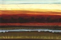 Skyline Symmetry - detail Framed Print