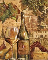 Wine Collage II - mini Framed Print