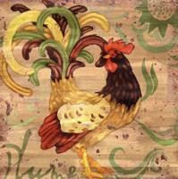Royale Rooster III Fine Art Print