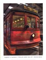 Trolley #655, Hill St.-Venice Blvd. Fine Art Print