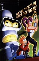 Futurama: The Beast with a Billion Backs Wall Poster