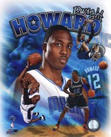Dwight Howard 2011 Portrait Plus Fine Art Print